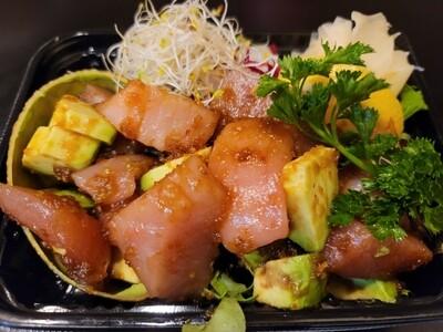 Spicy Tuna & Avocado Sashimi