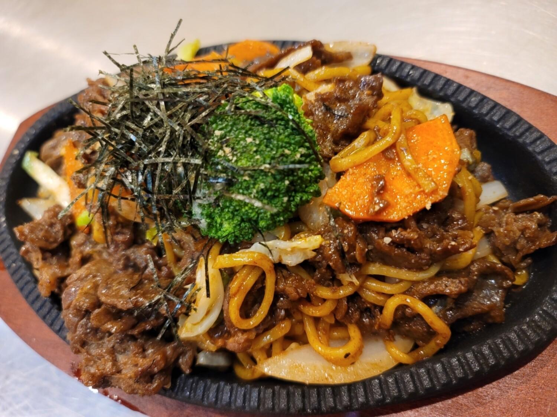 Yaki soba (Beef)