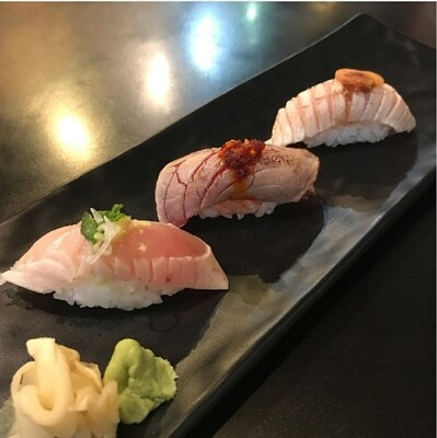 Seared Nigiri TRIO