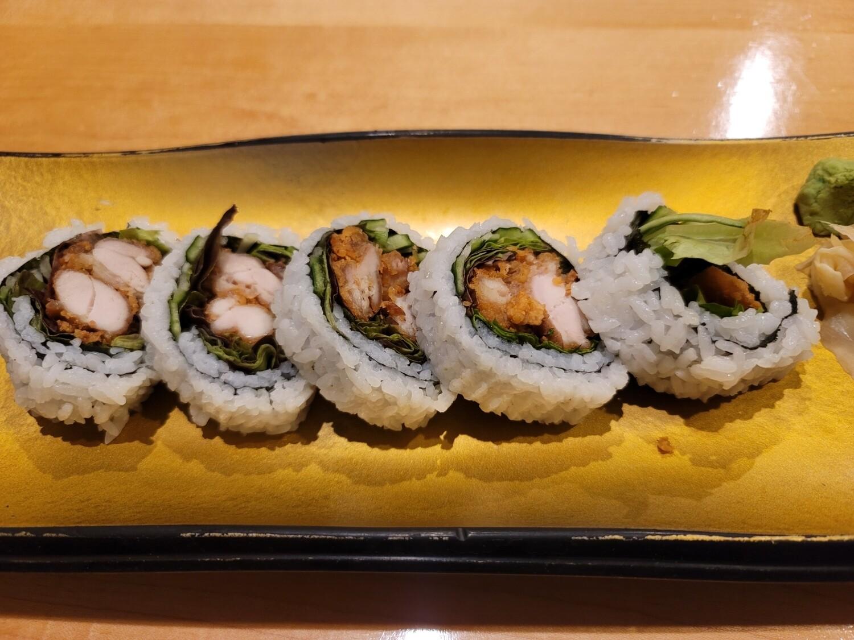 Chicken Karaage Roll