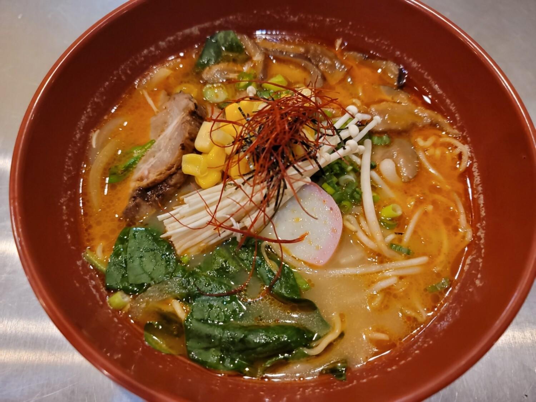 Miso Tonkoshu Ramen (Spicy)