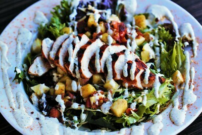 Spicy Rooster Salad