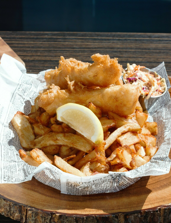 COD, fish & chips