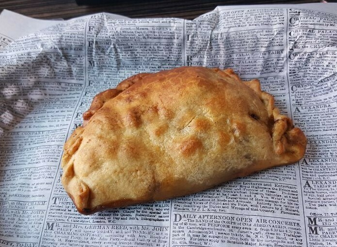 Chicken Pot Pie Pasty