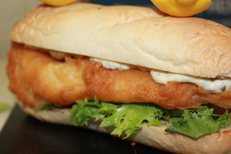 Haddock Fish Sandwich