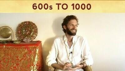 Expanding Awareness 600s to 1000 & Present Moment Meditation