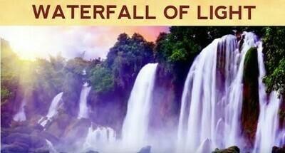 Premium: Waterfall of Light Guided Meditation for Inner Light Awakening - Level of Consciousness 400