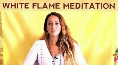 Premium: White Flame Guided Meditation - Healing Heart and Sexual Energy