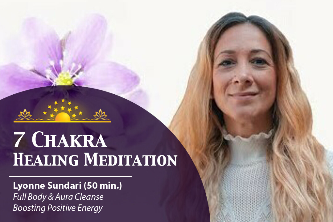 7 Chakras Healing Meditation | Full Body and Aura Cleanse & Boosting Positive Energy