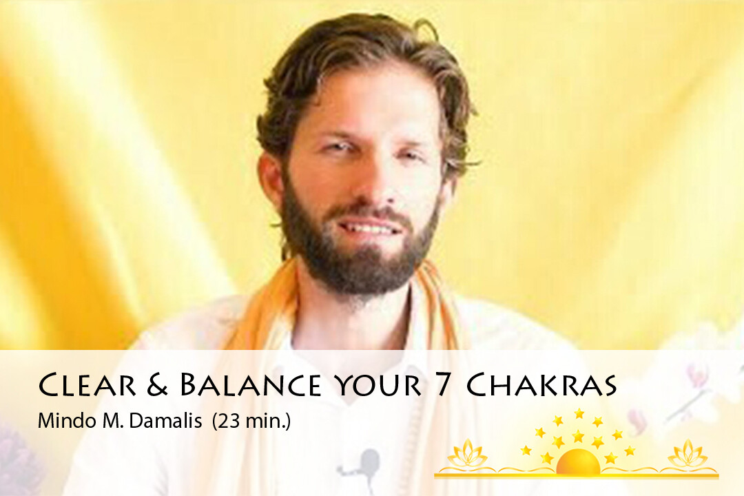 7 Chakras Opening, Clearing and Balancing Meditation