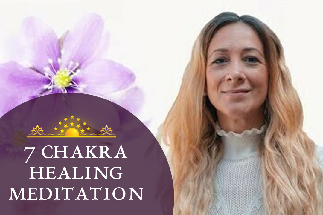 7 Chakras Healing Meditation   Full Body and Aura Cleanse & Boosting Positive Energy