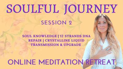 Soulful Journey Online Meditation Retreat - Session 2