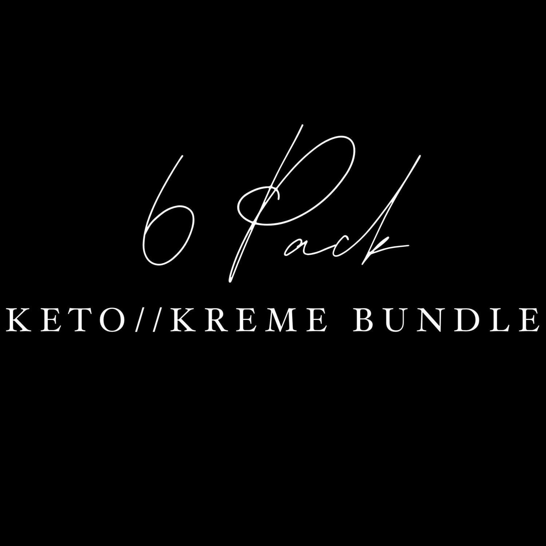 Sample Pack: Keto//Kreme **US SHIPPING INCLUDED