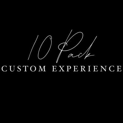 10 Pack Custom Experience **US SHIPPING INCLUDED**