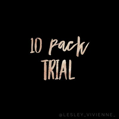 10 PACK CUSTOMIZED TRIAL