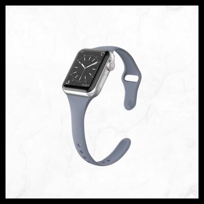 Techmate Skinny Silicone Band - Grey
