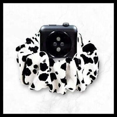 Techmate Dalmatian Scrunchie Band