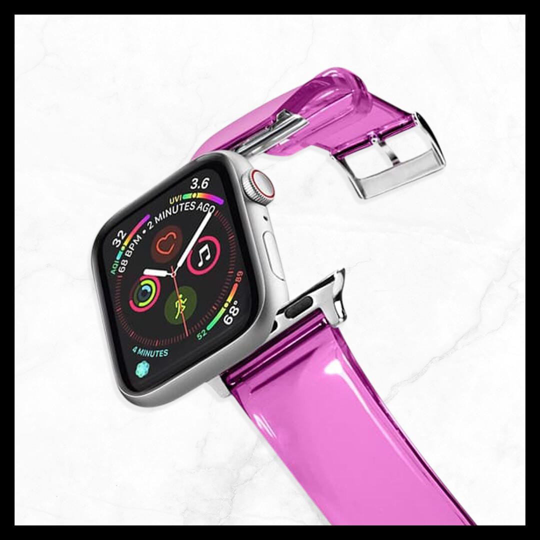 Techmate Plastic Pink Strap