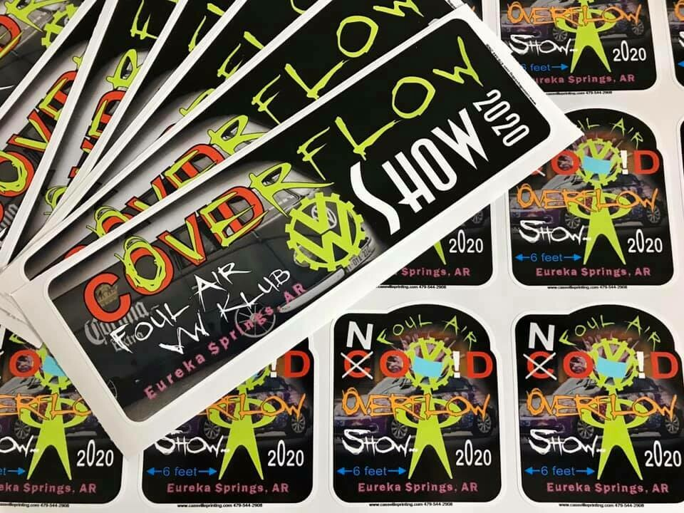 6 Pack of Stickers of Your Choice FREE Shipping