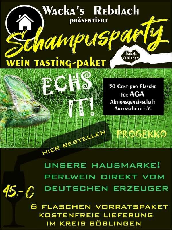 Hausmarke Schaumwein ECHS IT!