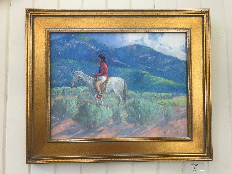Taos Rider by Joseph S. Bertola