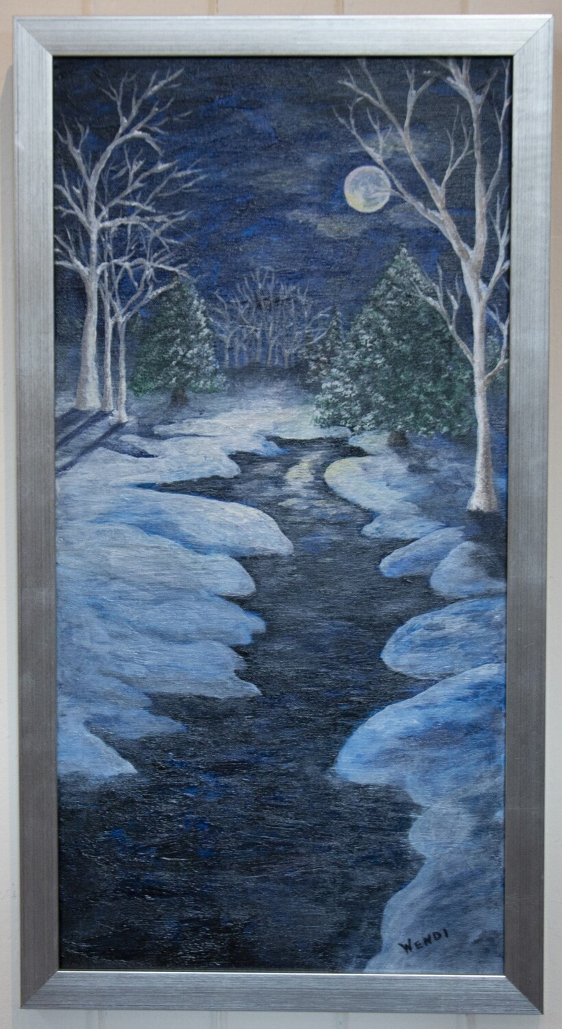 """Fantasyland: A Wintery Moon River"" by Wendi Deines"
