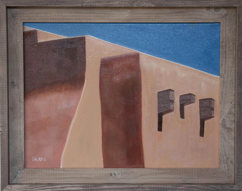 """""""Santa Fe Rooftop"""" by Lisa Drake"""