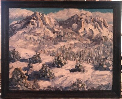 Raton Pass, NM by Sam Hughes