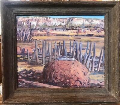 Oven, Zuni Pueblo by Sam Hughes