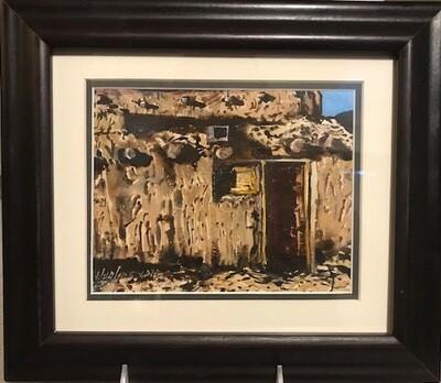 Weathered Adobe, Taos Pueblo by Sam Hughes