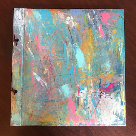 Painted Cover Sketchbook by Isis Grayling
