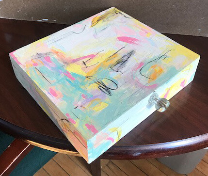 Painted Box by Isis Grayling