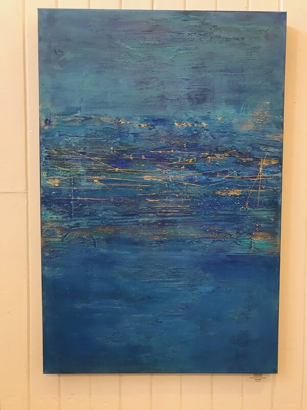 Ocean Blue by Patricia Aguilar