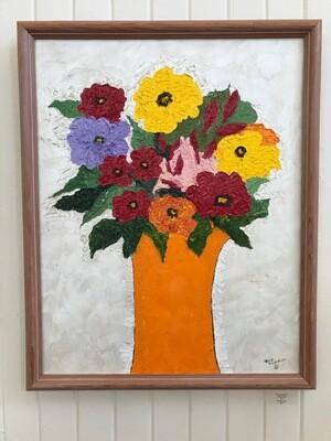 Orange Vase by Jana Floersheim