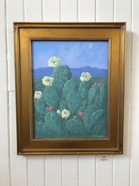 Flowering Prickly Pear by Joseph Bertola