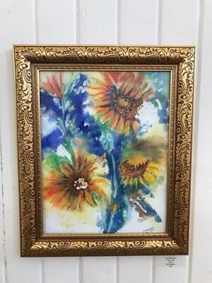 Sun Flowers by Jana Floersheim