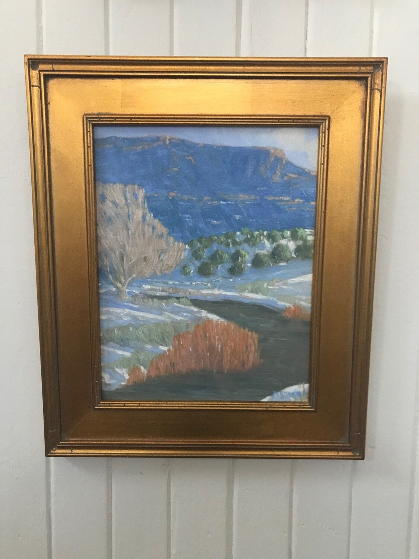 Pecos River Winter by Joseph Bertola