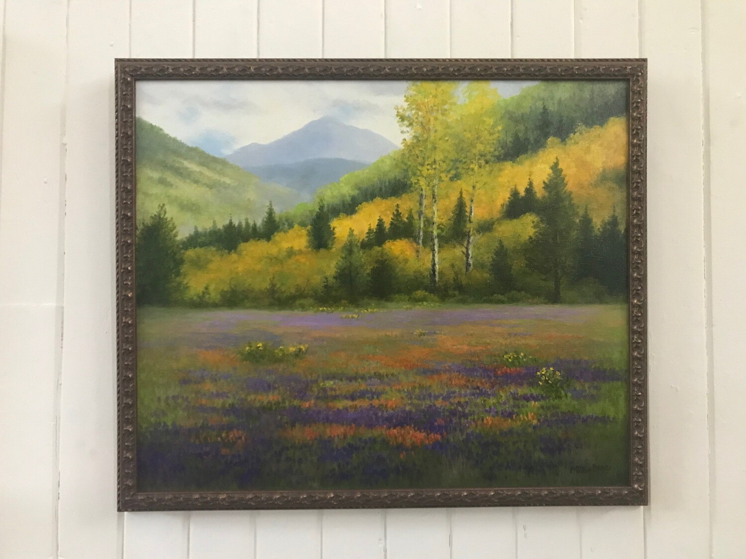 Summertime in the Mountains by Milbe Benge