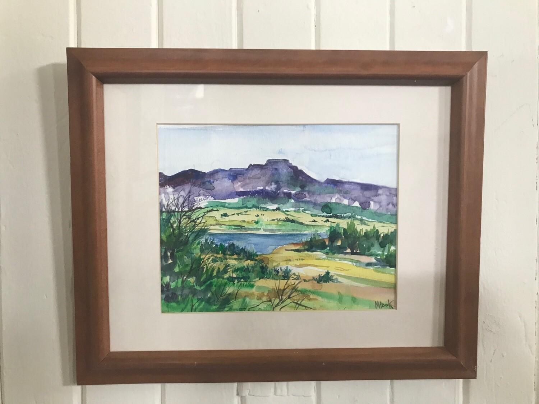 Purple Fisher's Peak by Marcia Hook