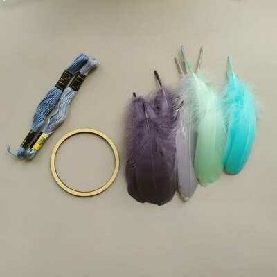 Набор для плетения ловца снов #5