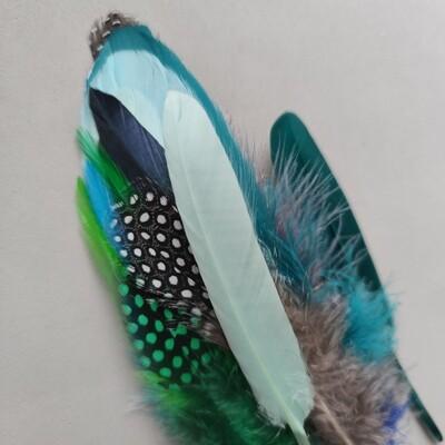 Набор разных перьев #1 15 шт.