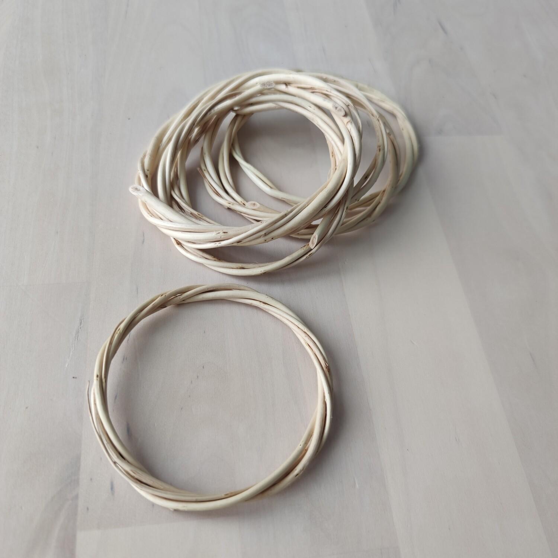 Основа для ловца снов плетеная из лозы 7 - 8 см.