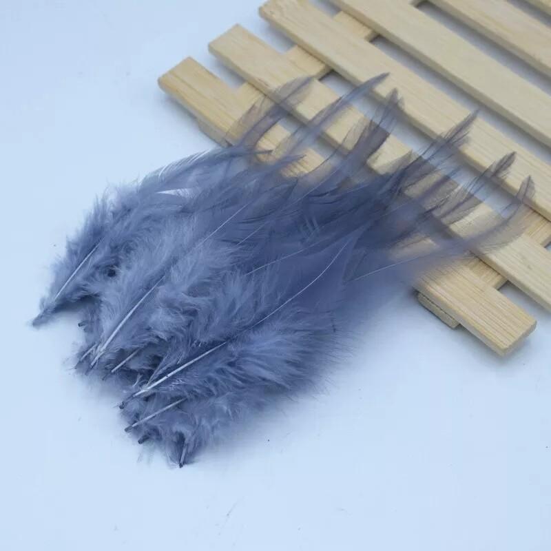 Перья петуха туман 10 - 15 см. 20 шт.