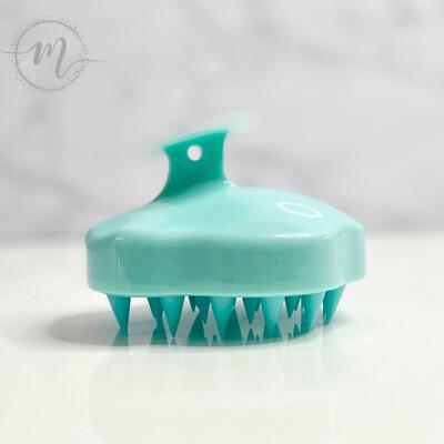 Brosse exfoliante et stimulante pour le cuir chevelu Turquoise