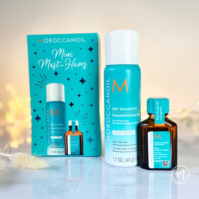 Coffret mini Must Haves Shampooing sec light + Huile light