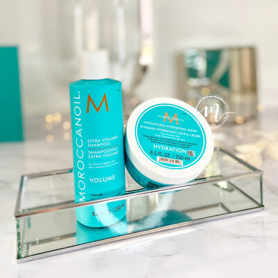 Ma routine Shampooing Volume + Masque Hydratation Ultra-Léger