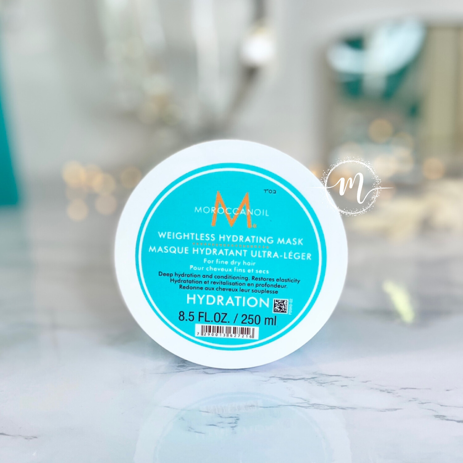 Masque Hydratant Ultra-Léger 250ml Moroccanoil