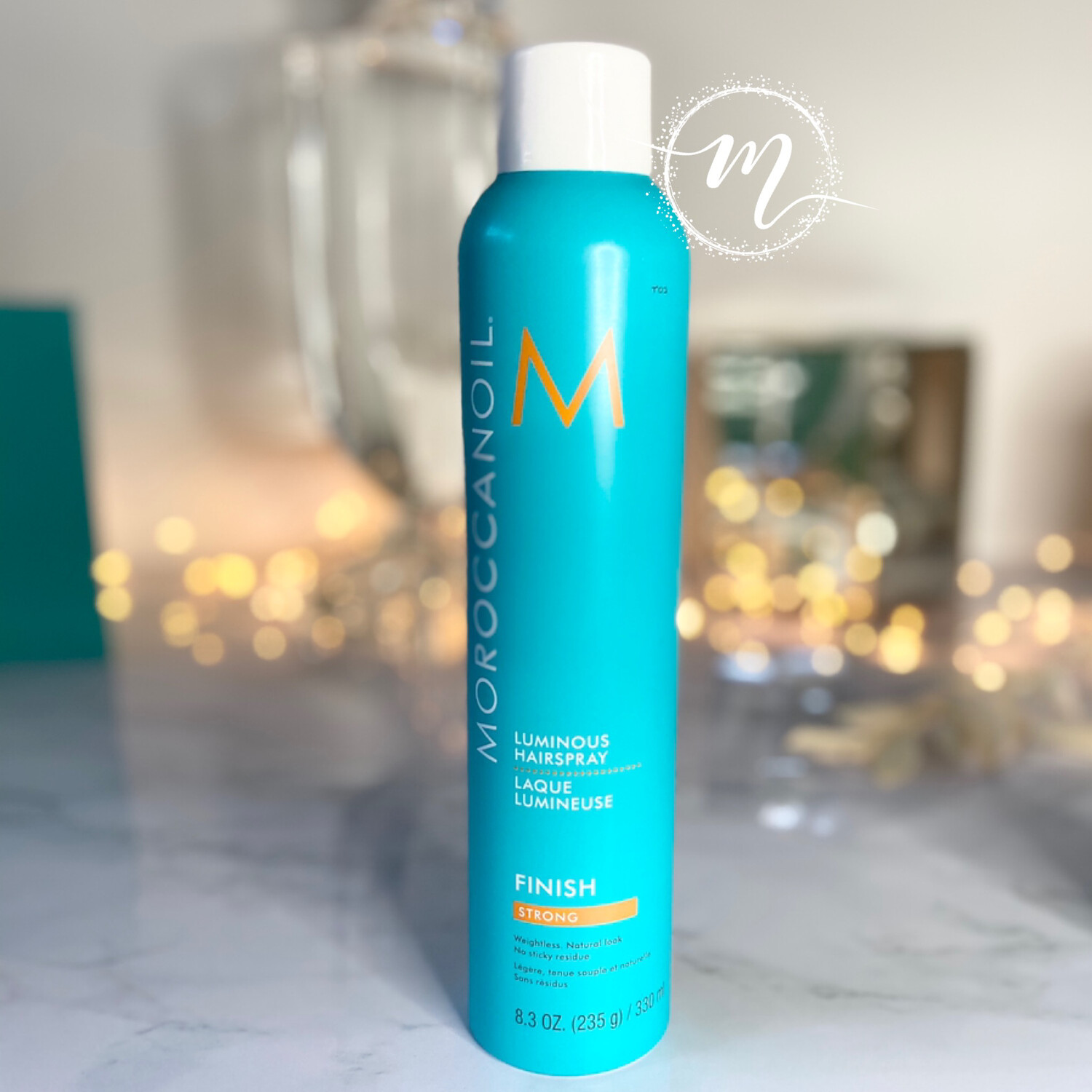 Laque Lumineuse Strong 330ml Moroccanoil