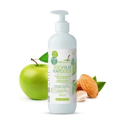 Shampooing enfant BIO Dermo- apaisant Pomme Verte- Amande Douce 400ml Rechargeable