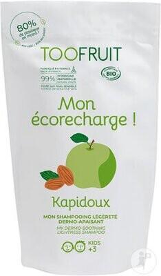 Mon écorecharge Shampooing enfant BIO Dermo- apaisant Pomme Verte- Amande Douce 400ml